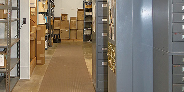 File Cabinets Flooded After